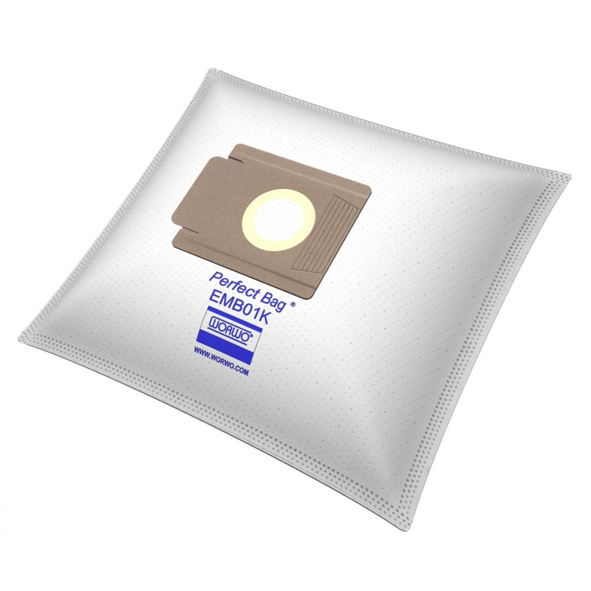 Støvsugerposer til EIO og MORPHY RICHARDS - 4 stk + 1 filter