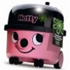 Numatic Hetty Compact HET160 støvsuger - Pink/sort med 10 meter kabel